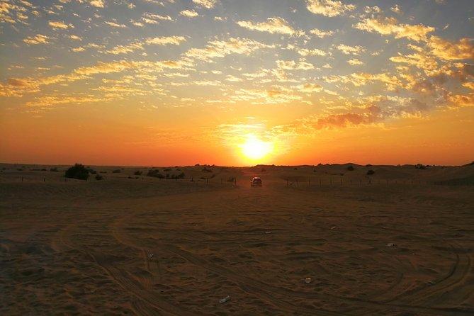 Dubai Desert Safari with Buffet Dinner Evening