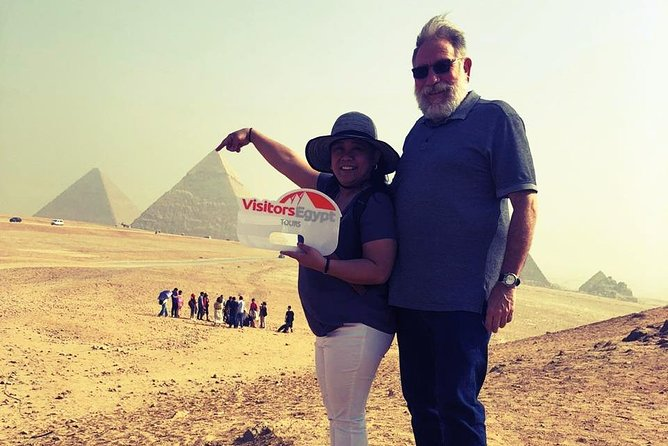 Visit Giza Pyramids and Sphinx in a Full Day Trip