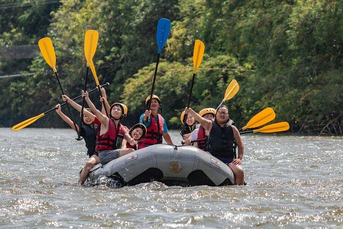 Day Tour From Kota Kinabalu: Kiulu Water Rafting & Jungle Zip Line
