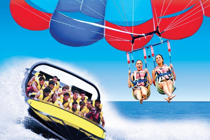 Jetboat / Parasail Package for 2