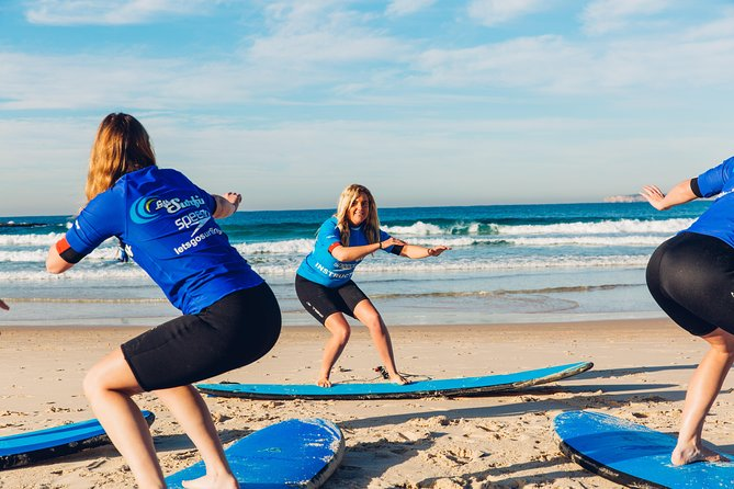 Surfing Lesson in Lennox Head