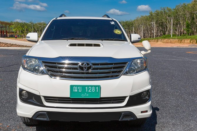 TAXI AIRPORT TRANSFER to SURIN BEACH Area