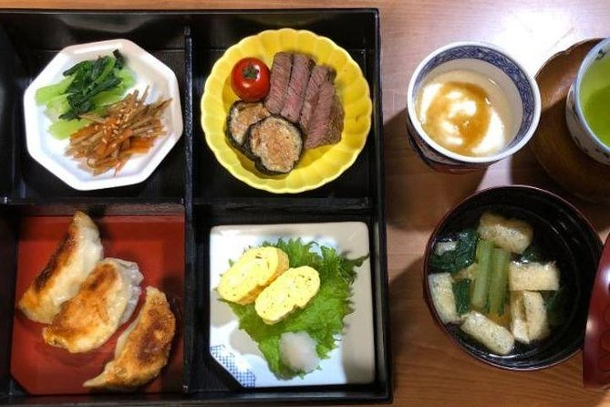 Wagyu Beef and Gyoza Bento Class