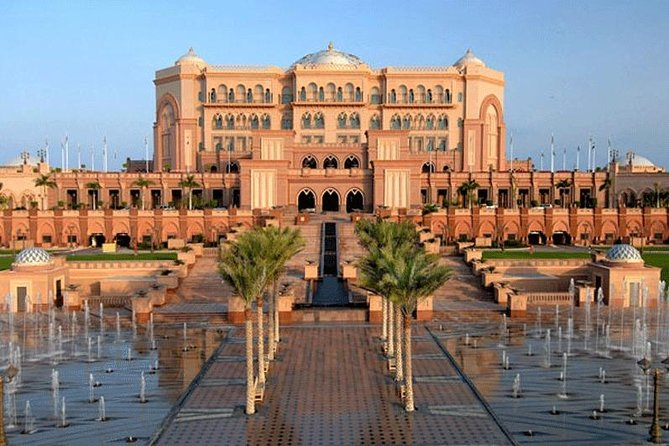 Full Day Abu Dhabi Sightseeing Tour with Grand Mosque Visit from Dubai