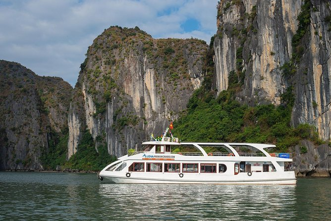Alova Premium Cruise - Deluxe Halong Bay Full Day Tour from Hanoi