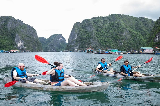 Luxury Day Cruise Halong Bay and Lan Ha Bay: All Inclusive & Full Activities