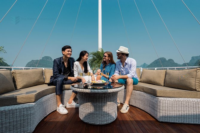 Amazing Ha Long & Lan Ha Bay Luxury Day Cruise from Hanoi (All Inclusions )