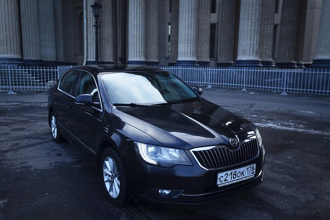Train Station - St Petersburg City Center Transfer by Business Class Car