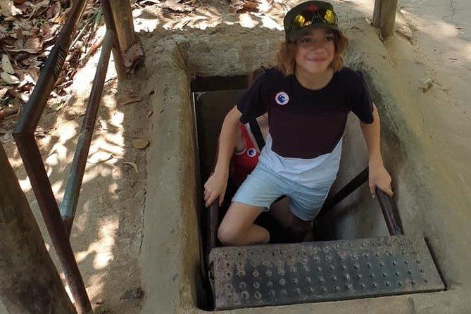 Private Cu Chi ( Less Tourist ) Tunnels Half Day