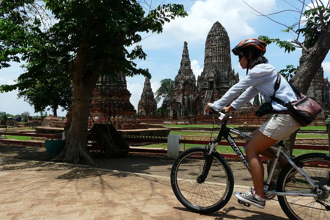 Explore! Cycling through Ayutthaya's history