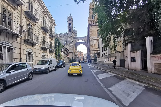 Palermo Sightseeing con fiat 500 vintage!!!