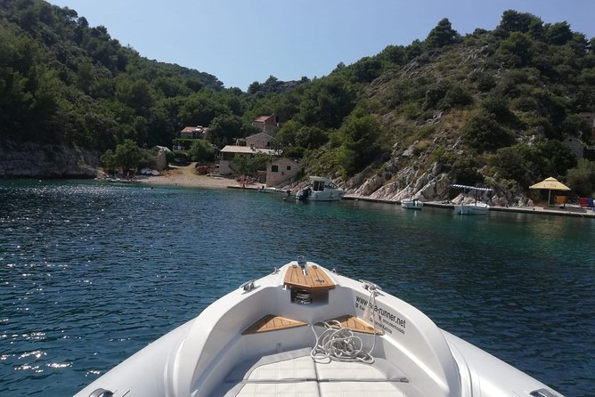 Blue lagoon, Trogir, island Šolta and island Brač - Private boat tour photo 24