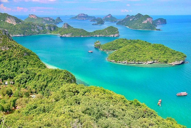 Angthong National Marine Park by Speed Boat with Snorkeling & Kayaking