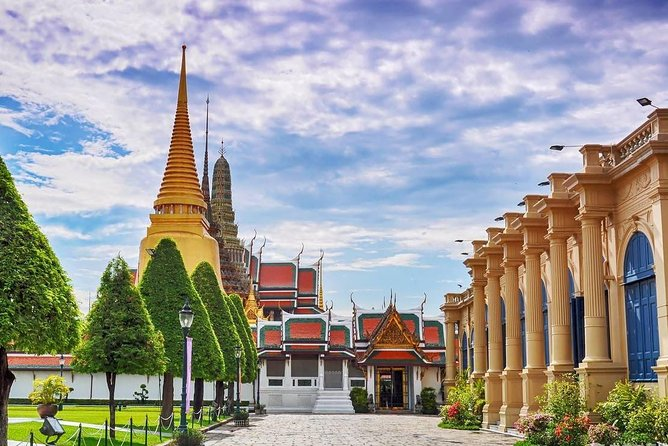 Full Day Bangkok City Tour All Included (Grand Palace/Floating+Railway markets)