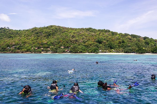 Phi Phi Island and Khai islands 4 Islands and 8 Points full day Snorkeling tour