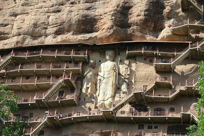 Private tour to Tianshui Maiji Mountain Grottoes with lunch start from Tianshui