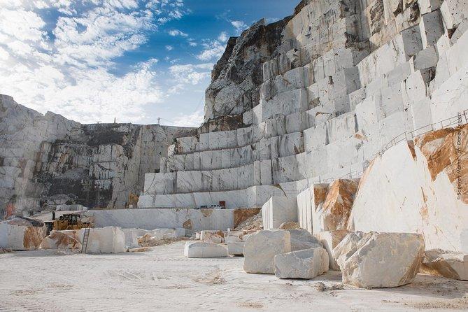 Carrara marble quarry and Pietrasanta tour