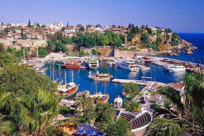 antalya city tour with düden waterfall karpuzkaldıran waterfall and boat ride
