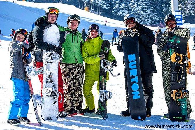 Premium Burton Snowboard hire