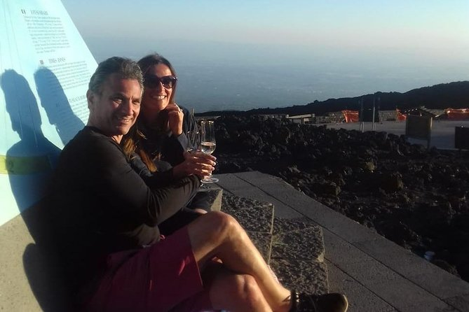 Mt Etna Sunset Private Tour with Prosecco on the Crater photo 1