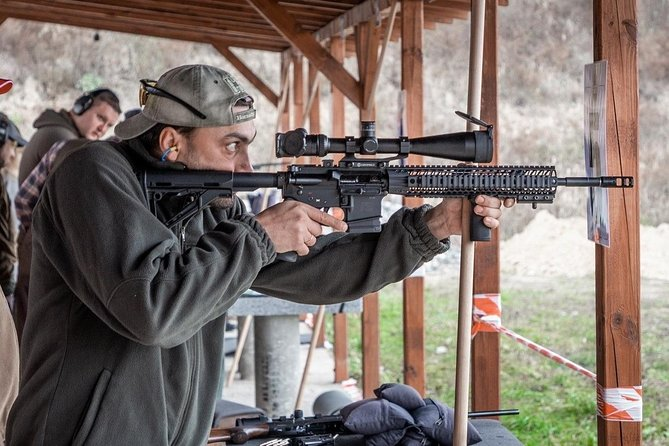 Private Shooting Range Experience in Kyiv
