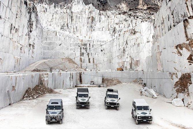 Carrara Marble and Colonnata Lard Tasting Private Tour from Forte Dei Marmi