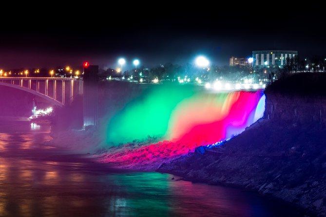 Niagara Falls Canada Exclusive Evening Light Tour From Canada