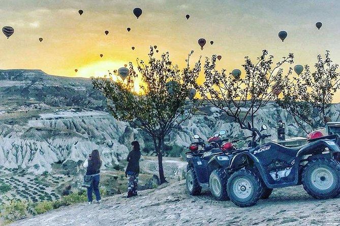 Exploring Cappadocia on Quad Safari