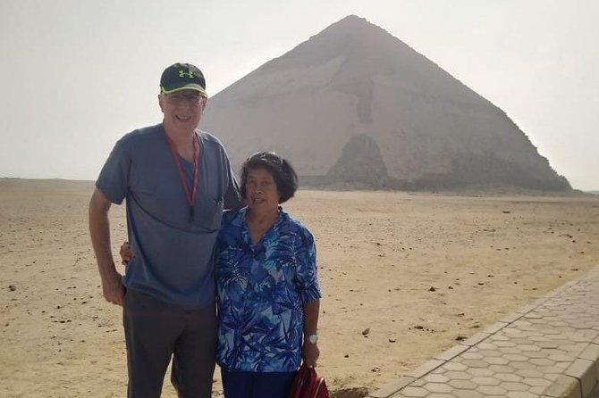 dahshur pyramids, sakkara step pyramid ,Memphis day tour