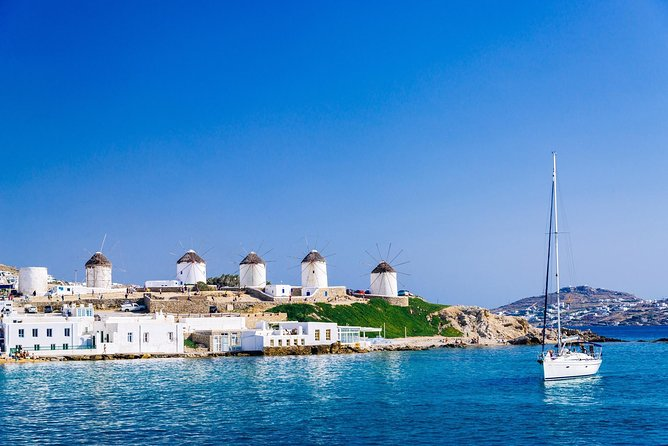 Private Two Days Cruise from Mykonos on a Lagoon 450
