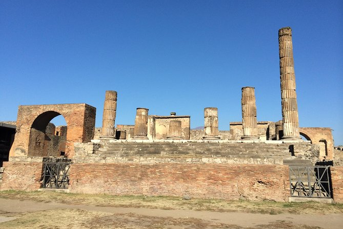 Pompeii-Vesuvius-Wine Tasting tour with licensed guide included