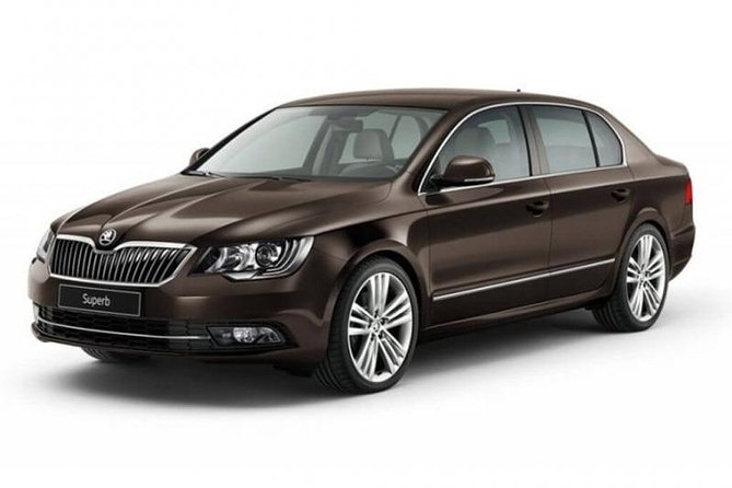 Departure Private Transfer Budapest City to Budapest Airport BUD by Standard Car