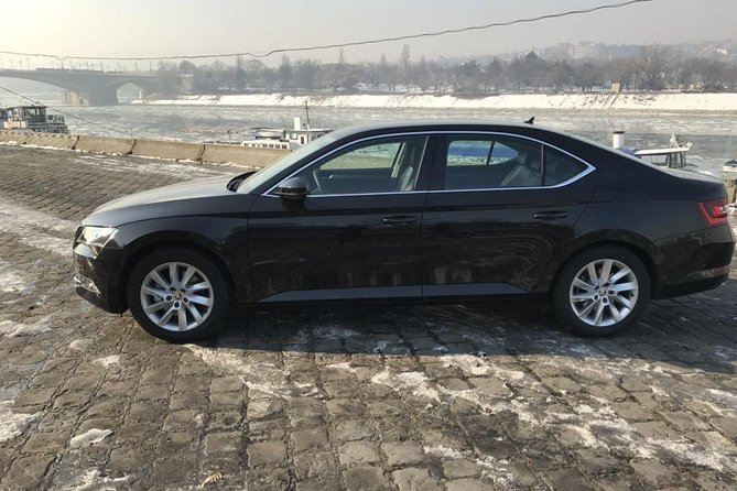 Arrival Private Transfer Budapest Airport BUD to Budapest City in Standard Car