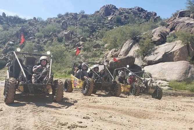 2 Person Guided U-Drive ATV Sand Buggy Tour Scottsdale/Phoenix photo 9