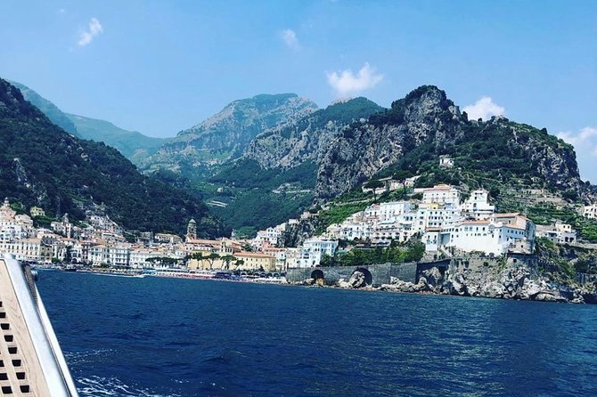 Private Boat tour Positando & Amalfi coast