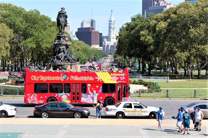 Double Decker Hop-On Hop-Off Sightseeing Tour of Philadelphia (1, 2, or 3-Day)