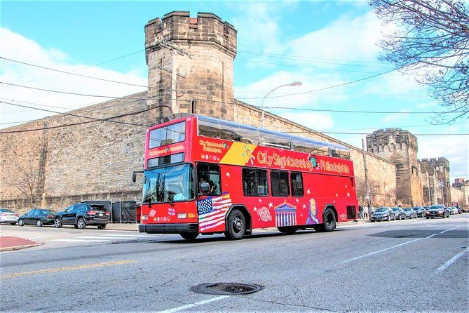 Philadelphia Hop-On Hop-Off Tour with Eastern State Penitentiary Admission
