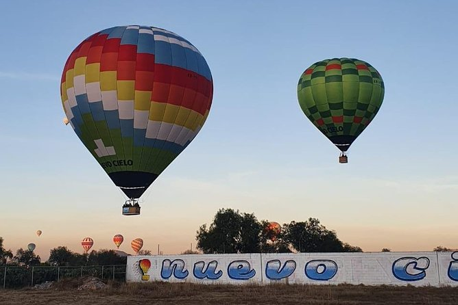 Balloon flight ALL TOGETHER
