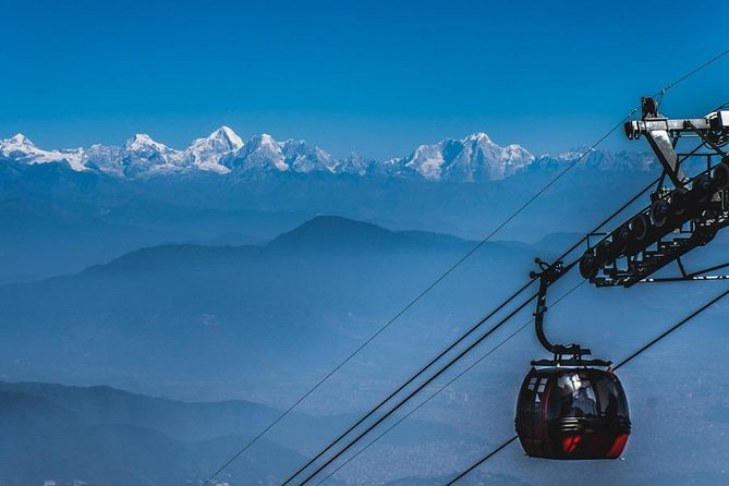 Chandragiri Hills cable car day trip, private car with driver from Kathmandu