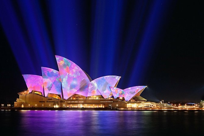 1.5 HR Vivid Sydney Harbour Cocktail Dinner Cruise