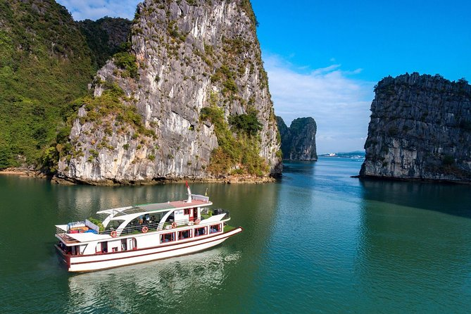 Estella Premium Day Cruise In Halong Bay & Lan Ha Bay-By Expressway from Hanoi