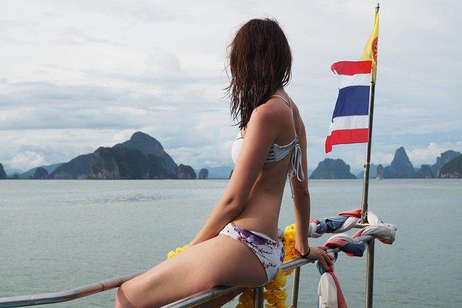 James Bond Island & Canoeing Swimming Big Boat