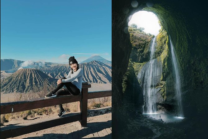 1 Day - Mount Bromo (5 spots) and Madakaripura waterfall // 23.00 - 18.00