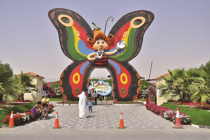 Dubai Butterfly Garden Ticket with Transfer