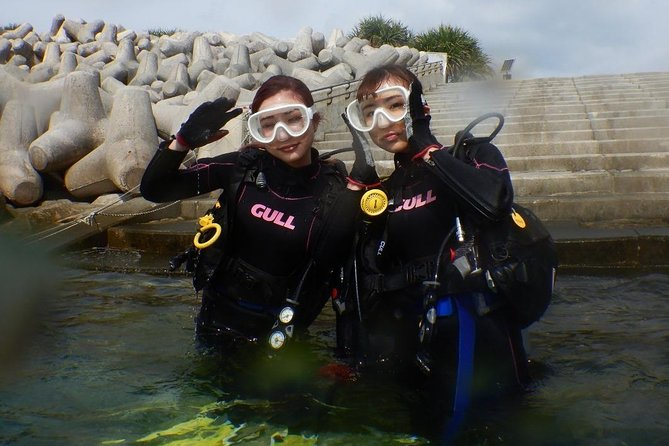【Okinawa・Motobu Area】Stand-Up Paddling +Trial Diving for couples