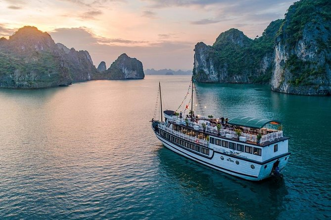 Stunning Bai Tu Long Bay - Less Tourist area with Swan Cruise 2 Days 1 night