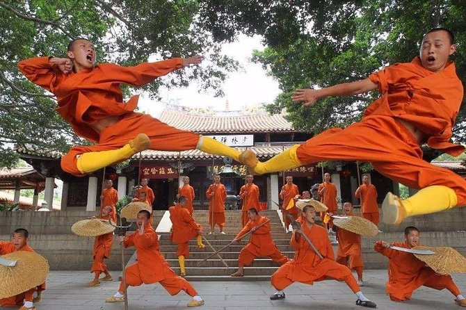 Full-Day Shangai to Shaolin Temple Tour & Kung Fu Show by Air