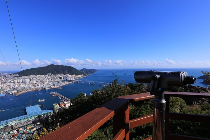 PRIVATE MORNING HIKING TO SEE THE SPECTACULAR BUSAN CITY VIEW (326m / 1,070ft)