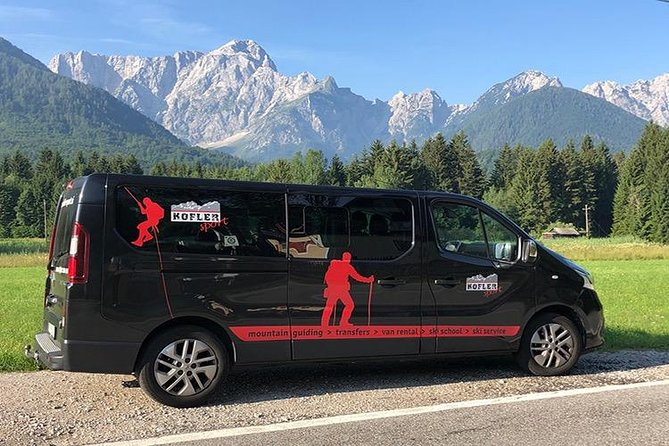 Get a Transfer for you, Family, Group of Cyclists, hikers-around Julian Alps