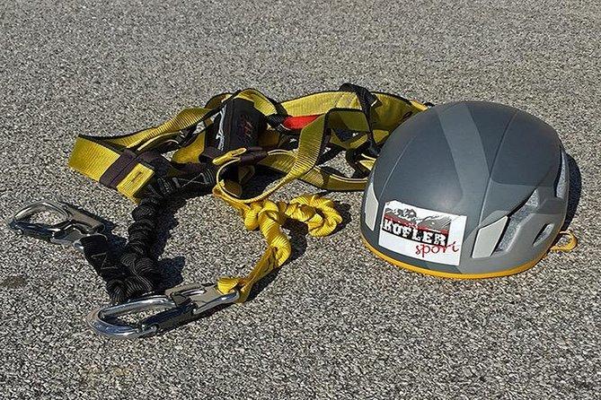 Rent Via Ferrata Sets and Mountaineering Equipment
